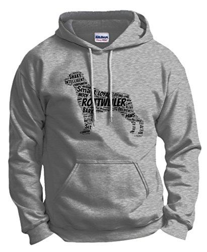 Rottweiler Puppy Owner Hoodie Sweatshirt