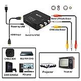 HDMI to RCA, 1080p HDMI to AV 3RCA CVBs Composite