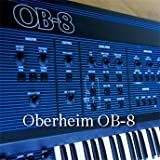OBERHEIM OB-8 Huge Original Factory and NEW created Sound Library & Editors on CD