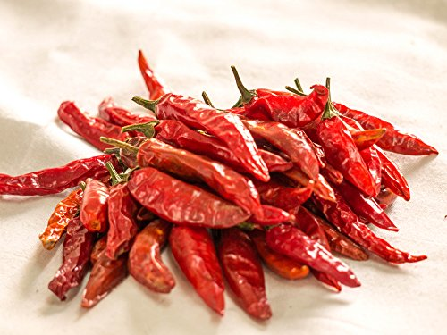 - Nobility Dry Chillies 100g / 3.5oz - Dried Red Chili Pepper - Indian Extra Hot Red Chilli - [A+]