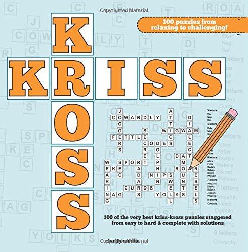 Kriss Kross Puzzles Media Clarity 9781508902331 Amazon Com Books