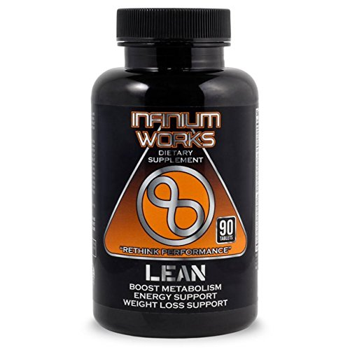 Lean Diet Pills & Weight Loss Supplement – All Natural, Appetite Suppressant, Energy & Detox Fat Burner Support with Apple Cider Vinegar (90 Tablets) Non-GMO by Infinium Works