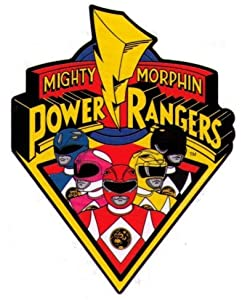 Amazon.com: Mighty Morphin Power Rangers Logo & Characters ...