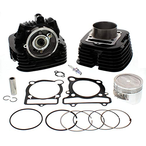 NICHE Cylinder Piston Gasket Head Kit For Yamaha Big Bear 400 - Bear Piston Big