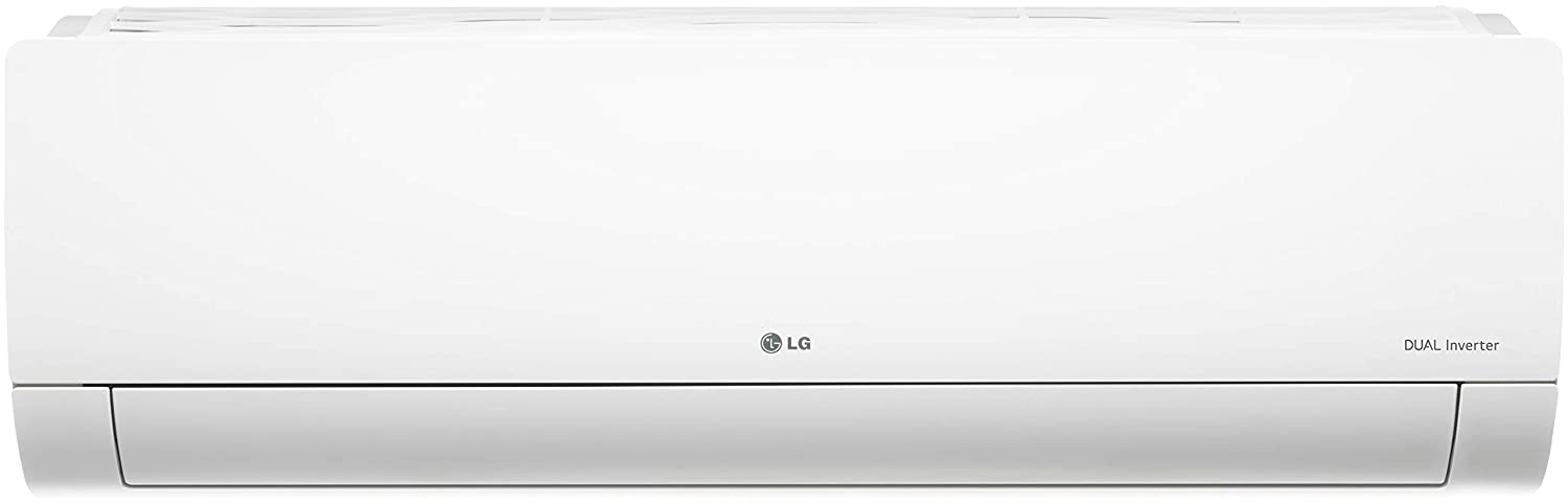 LG 1 Ton 3 Star Inverter Split AC (Copper, Convertible 4-in-1 Cooling, HD Filter, 2021 Model, MS-Q12YNXA, White)