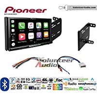 Volunteer Audio Pioneer AVH-W4400NEX Double Din Radio Install Kit with Wireless Apple CarPlay, Android Auto, Bluetooth Fits 2012-2014 Nissan Versa