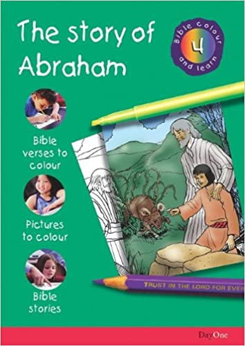 Book Bible Colour and Learn:4 Abraham