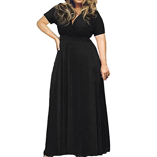 POTO Women Dresses Plus Size 3c11bd7aa8f4