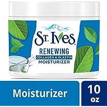 St. Ives Facial Moisturizer for Dry Skin, Collagen Elastin, 10 oz