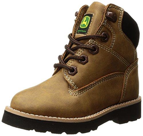 John Deere Baby Jd2092 Ankle Boot  Brown  1 Medium Us Little Kid