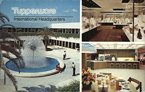 Tupperware International Headquarters Orlando, Florida Original Vintage Postcard -