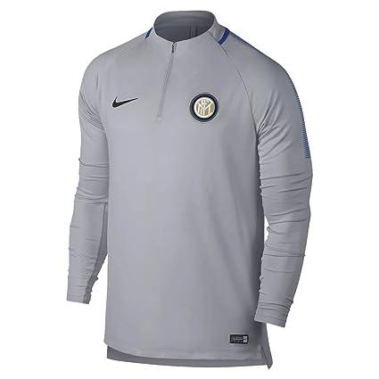 4f9e075da7 Amazon.com : 2017-2018 Inter Milan Nike Drill Training Top (Wolf ...