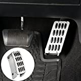 Gas Pedal Cover Aluminum Alloy Heightening Pedal for 2007-2018 Jeep Wrangler JK & Unlimited
