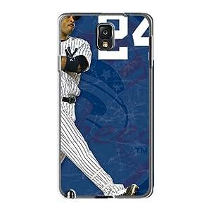 Samsung Galaxy Note 3 BSH19844gZKm Unique Design Lifelike New York Yankees Series High Quality Hard Cell-phone Case -RandileeStewart