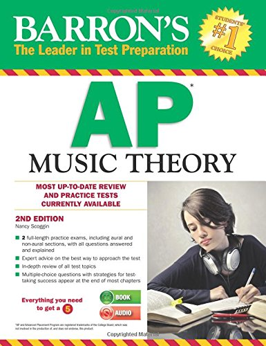 Barron's AP Music Theory with MP3 CD, 2nd Edition cover