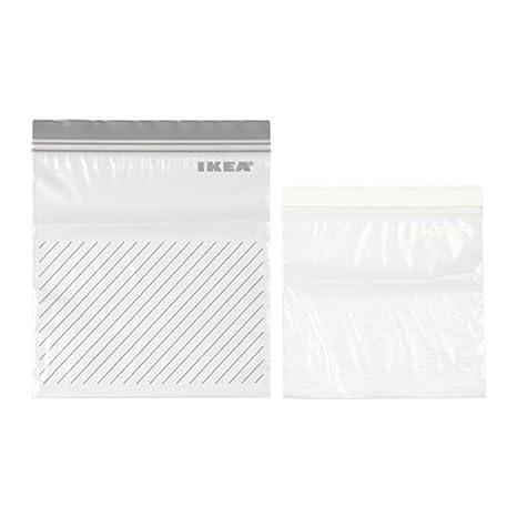 Amazon.com: IKEA – Juego de 50 bolsas (Istad), color morado ...
