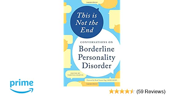This is Not the End: Conversations on Borderline Personality