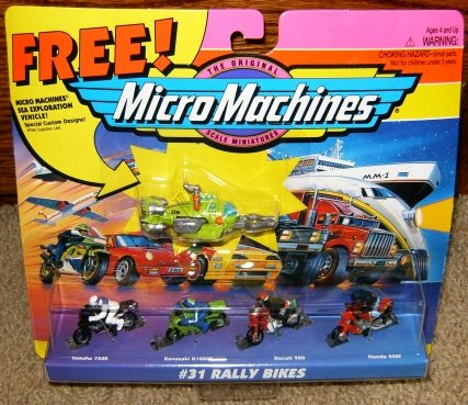 Micro Machines Rally Bikes #31 Collection