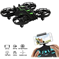 ZV RC mini Drones With Camera Live Video Altitude Hold Drone 2.4G 4CH Mini Quad-copter With Live Camera for kids