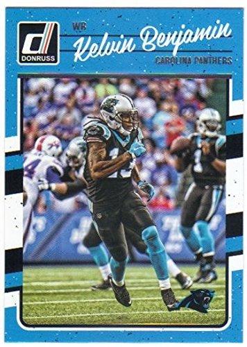 2016 Panini Donruss Football #42 Kelvin Benjamin Carolina Panthers