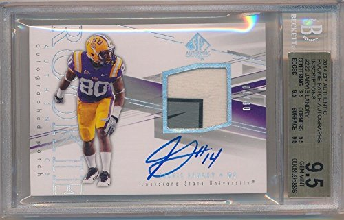 JARVIS LANDRY 2014 SP AUTHENTIC ROOKIE AUTO LOGO PATCH SP #06/10 BGS 9.5 GEM 10