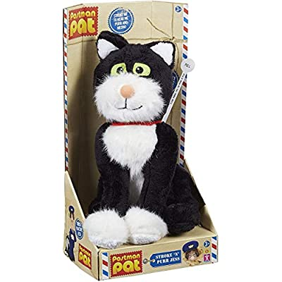 Postman Pat 04713 Pat Stroke and Purr Jess Plush Toy: Toys & Games