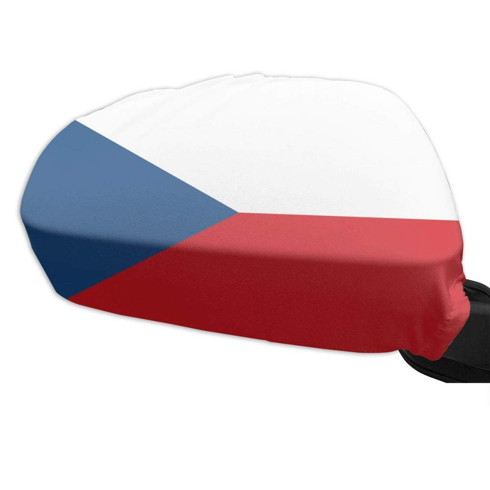 Iznwbbqsws Flag Czech Republic Side View Mirror Covers (Set of 2) Fits Most Cars & Small SUV's