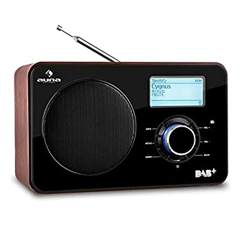 Hervorragend Auna Worldwide Internetradio Digitalradio WLAN Radio Netzwerkplayer LAN DAB  / DAB+ Tuner Mit RDS UKW