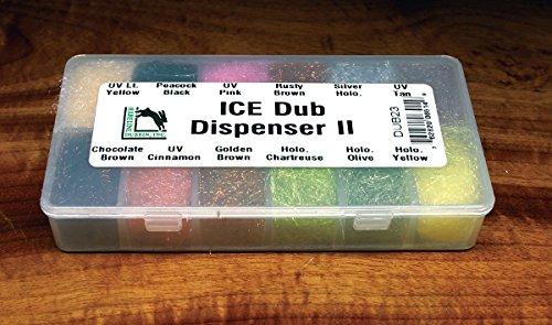 (Hareline Ice Dubbing Dispenser, Trout Ice Dub II)