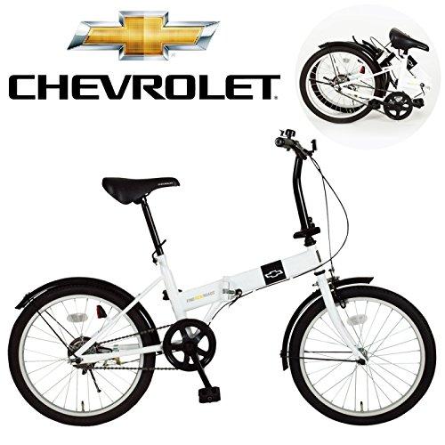 折りたたみ自転車 折り畳み自転車 折りたたみ自転車 折り畳み自転車 20インチ シボレー CHEVROLET FDB20R MG-CV20R B01DQZGPH2