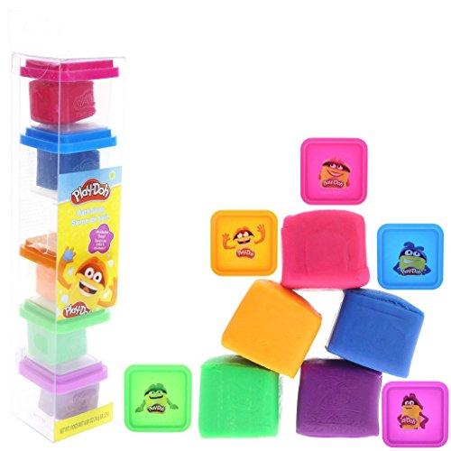 Townley Girl Play-Doh Bath Soap for Kids, 5 Fabulous Colors of Moldable Soap, 0.9 ounces each