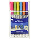 Decoart 6 Piece 1mm Brights Glass Paint Marker Set