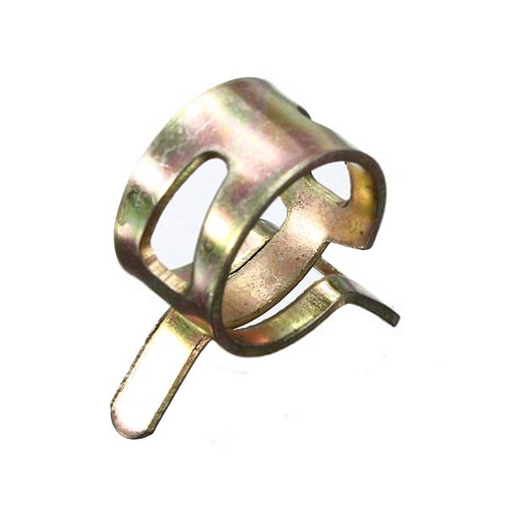 Tuyau Clips 6 15/mm Clips de tuyau de carburant Conduite deau Tube dair Tuyau de vidange en silicone Collier de serrage Fastener 10/pcs Buildamznuk0733