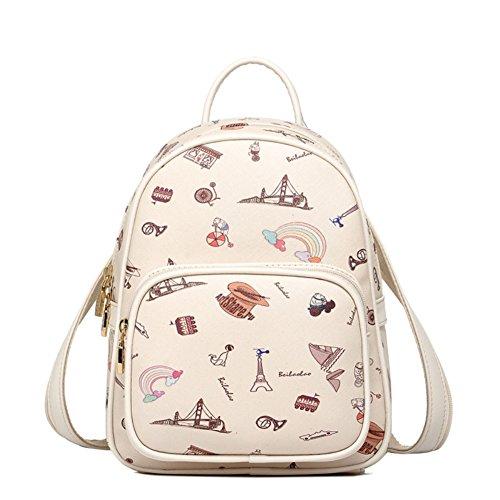 Women's Vertical PU Leather Top Handle Shopping Shoulder Bag(camel) - 4