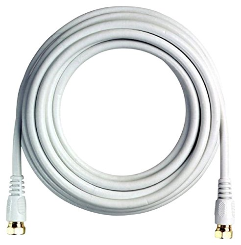 BoostWaves BW25W 25' High Definition HDTV White Coaxial Cable, Low Loss