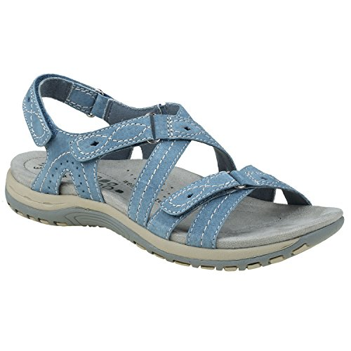 Earth Origins Shane Women's Moroccan Blue 8.5 Wide US by Earth Origins