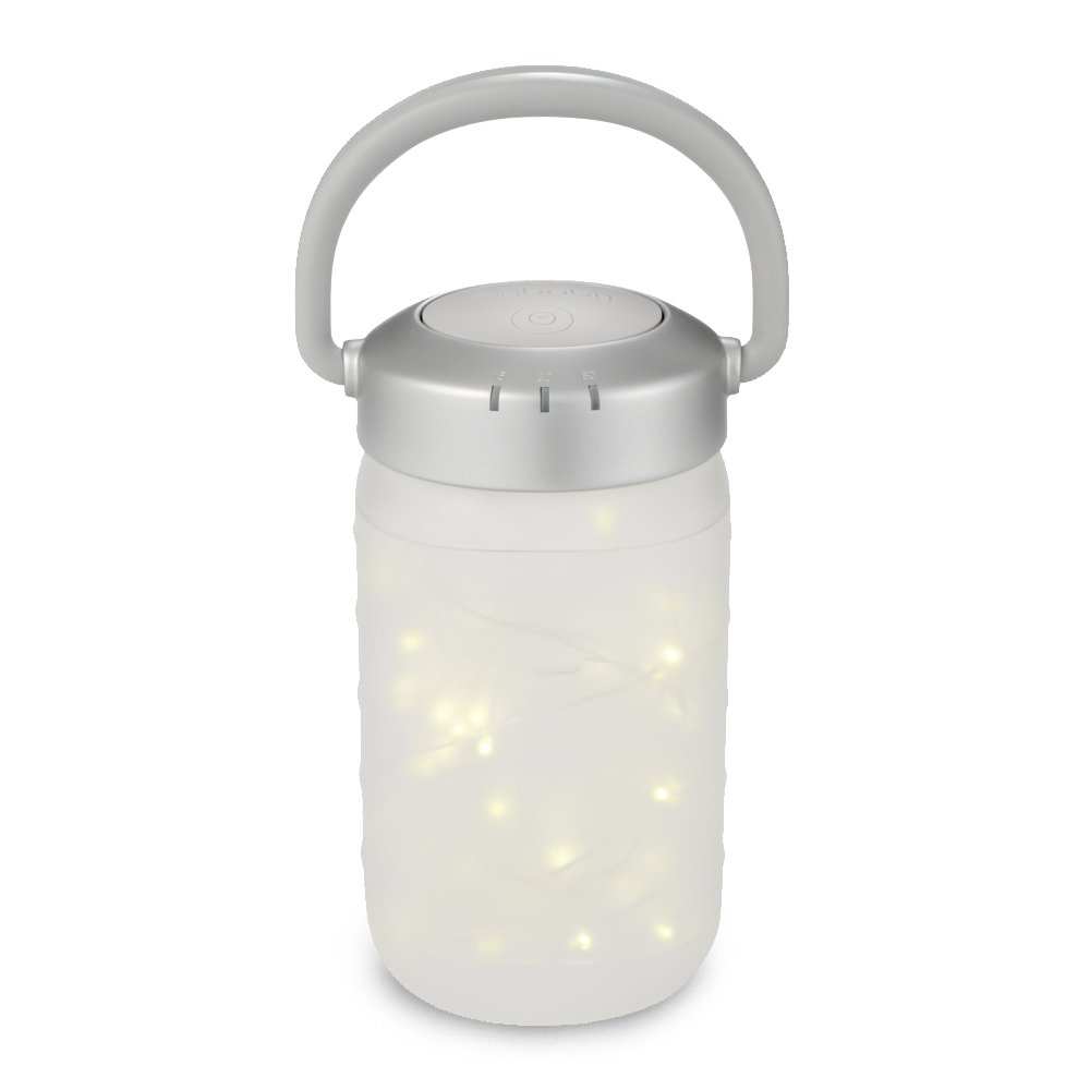 Walk-A-Bout Portable Nightlight Lantern | Bedside Light, Firefly Jar, Auto-Off Fairy Lamp | Fun Design, Soft Glow for Infants, Babies, Toddlers, and Children | MyBaby HoMedics MYB-N450