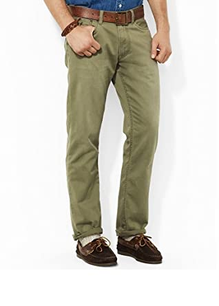bde65102729d0 Image Unavailable. Image not available for. Color  Polo Ralph Lauren Slim  Fit Chino Pants ...