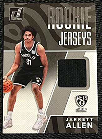huge inventory 6a77b 02e8e Amazon.com: 2017-18 Donruss Rookie Jerseys #13 Jarrett Allen ...