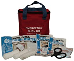 PhysiciansCare by First Aid Only 90330 15 Piece Water Jel Burn Care Kit with Fabric Case