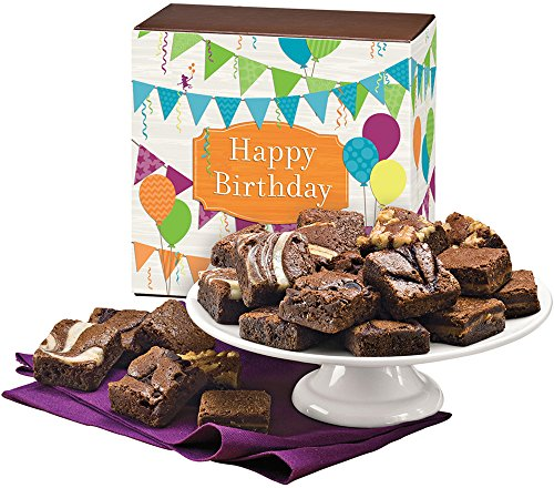 Fairytale Brownies Birthday Magic Morsel 24 Gourmet Food Gift Basket Chocolate Box...