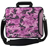 Camo Executive Sleeve in Pink Size: 15.4""