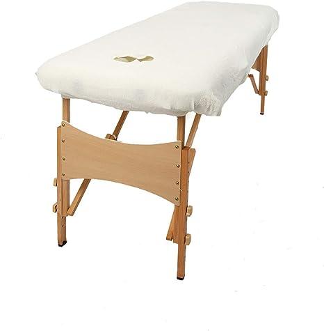 Rose Housse de table de massage de classique aztex avec sans trou pour le visage