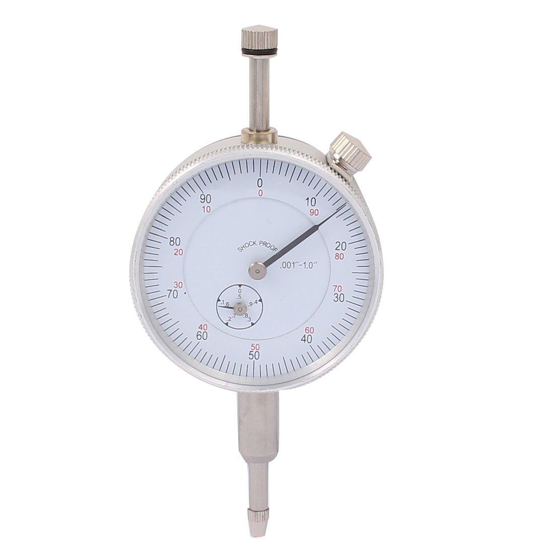 sourcingmap® 0-1 pulgadas instrumento Rango de medida Dial Indicador de nivel de precisión de la herramienta B-10 a16111400ux0389