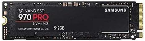Samsung 970 PRO MZ-V7P512E 512 GB Solid State Drive 2.25 GB//s Maximum Write Transfer Rate PCI Express 256-bit - Internal PCI Express 3.0 x4 M.2 2280-3.42 GB//s Maximum Read Transfer Rate