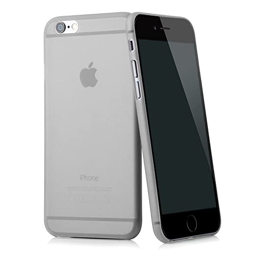 "11 opinioni per Ultra Slim case in grigio per Apple iPhone 6 (4,7"") skin cover bumper"