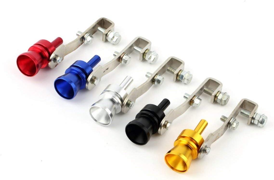 Universal Aluminum Cars Auto BOV Turbo Sound Whistle Tube Sound Simulator Tube Exhaust Muffler Pipe Tube MarinoBIRD