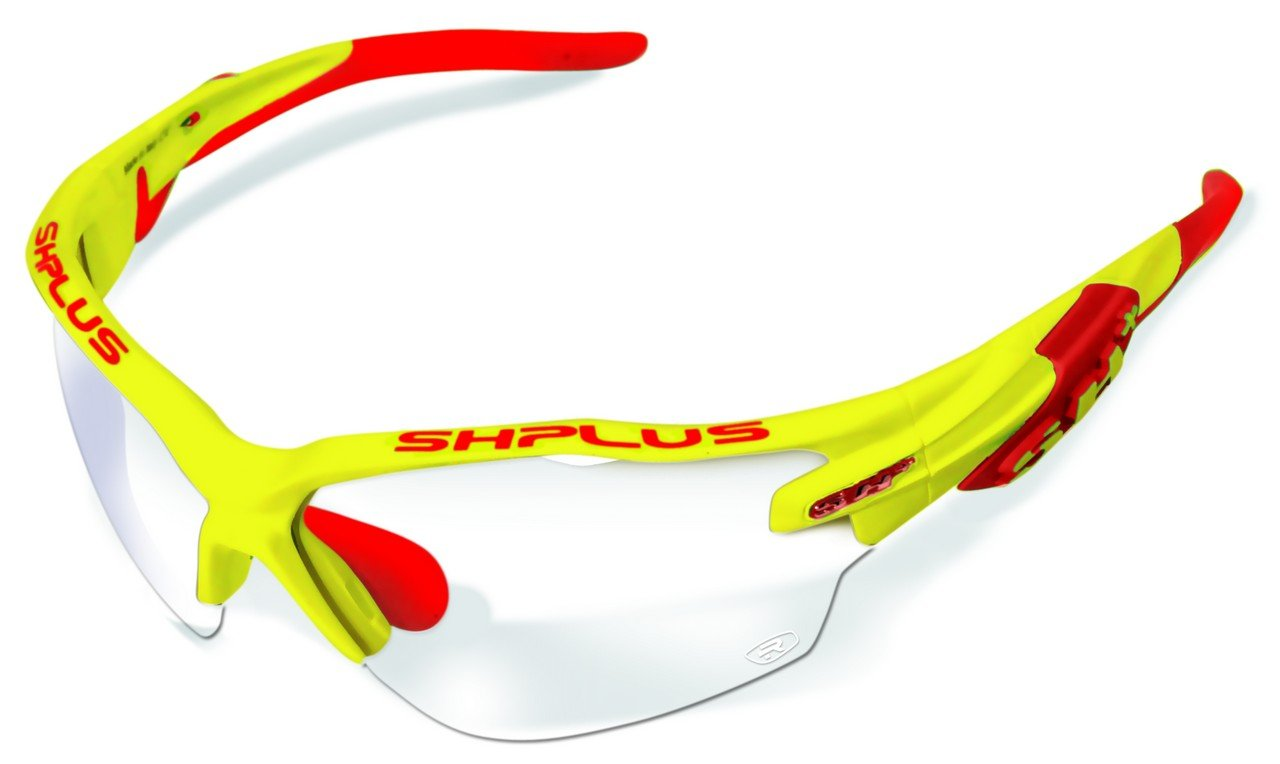 SH+ RG 5000 WX Reactive Sport Sunglasses Black/Blue (yellow/red, photochromatic) by SH+