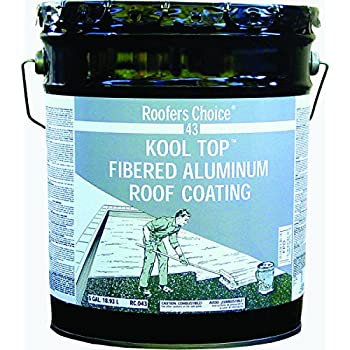 Henry Company RC043070 Roofers Choice KoolTop Fibered Aluminum Roof Coating