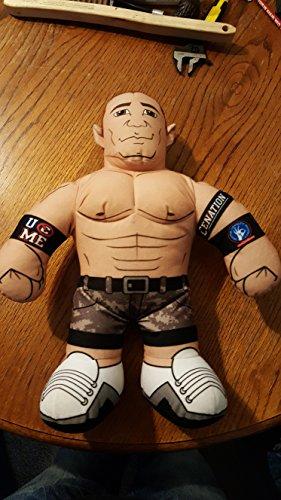WWE Brawlin' Buddies John Cena Plush Figure (Colors may vary) by 5Star-TD